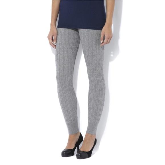 fdb766aba6c1a Mossimo Supply Co. Pants | Cable Knit Leggings | Poshmark